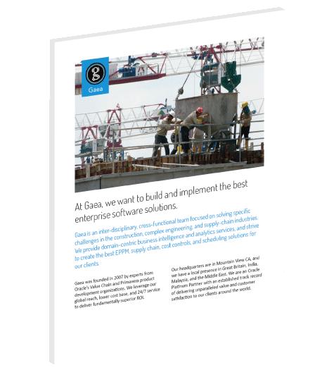Gaea company overview brochure