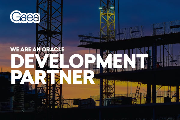 Gaea is an Oracle Development Partner