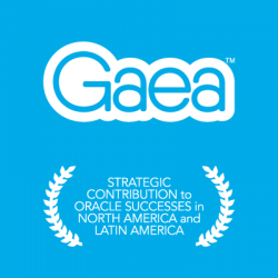 Gaea wins Oracle CEGBU award 2017