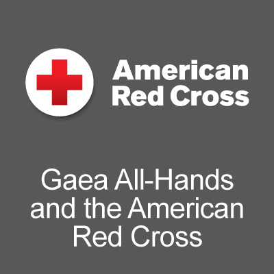 Gaea All-Hands and the American Red Cross