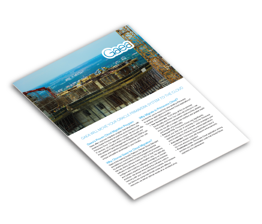 Gaea P6 On-Prem to Cloud brochure