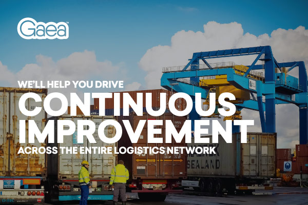 Gaea will help you drive continuous improvement across the entire logistics network