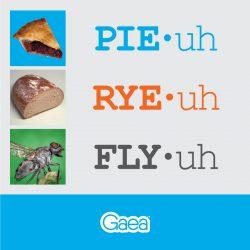 Gaea Pronunciation
