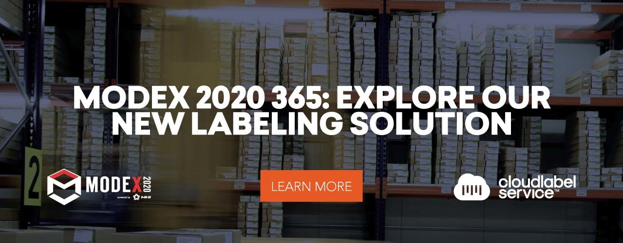 Modex 2020 365: explore our new labeling solution